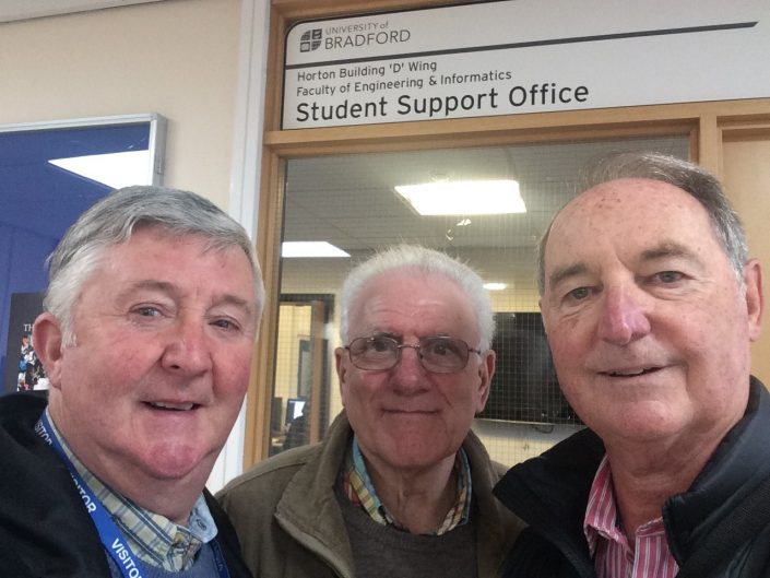 L-R: John McEvoy, Harry Haigh, Barry Cope.