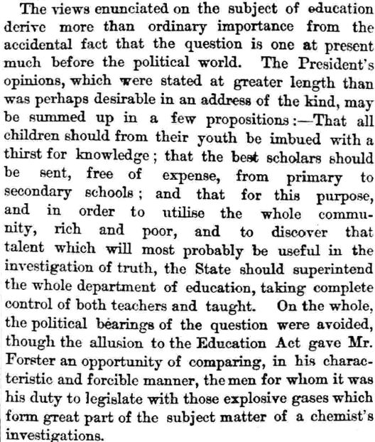 1873 Observer article