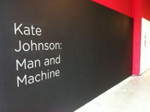Man and Machine exhibition.