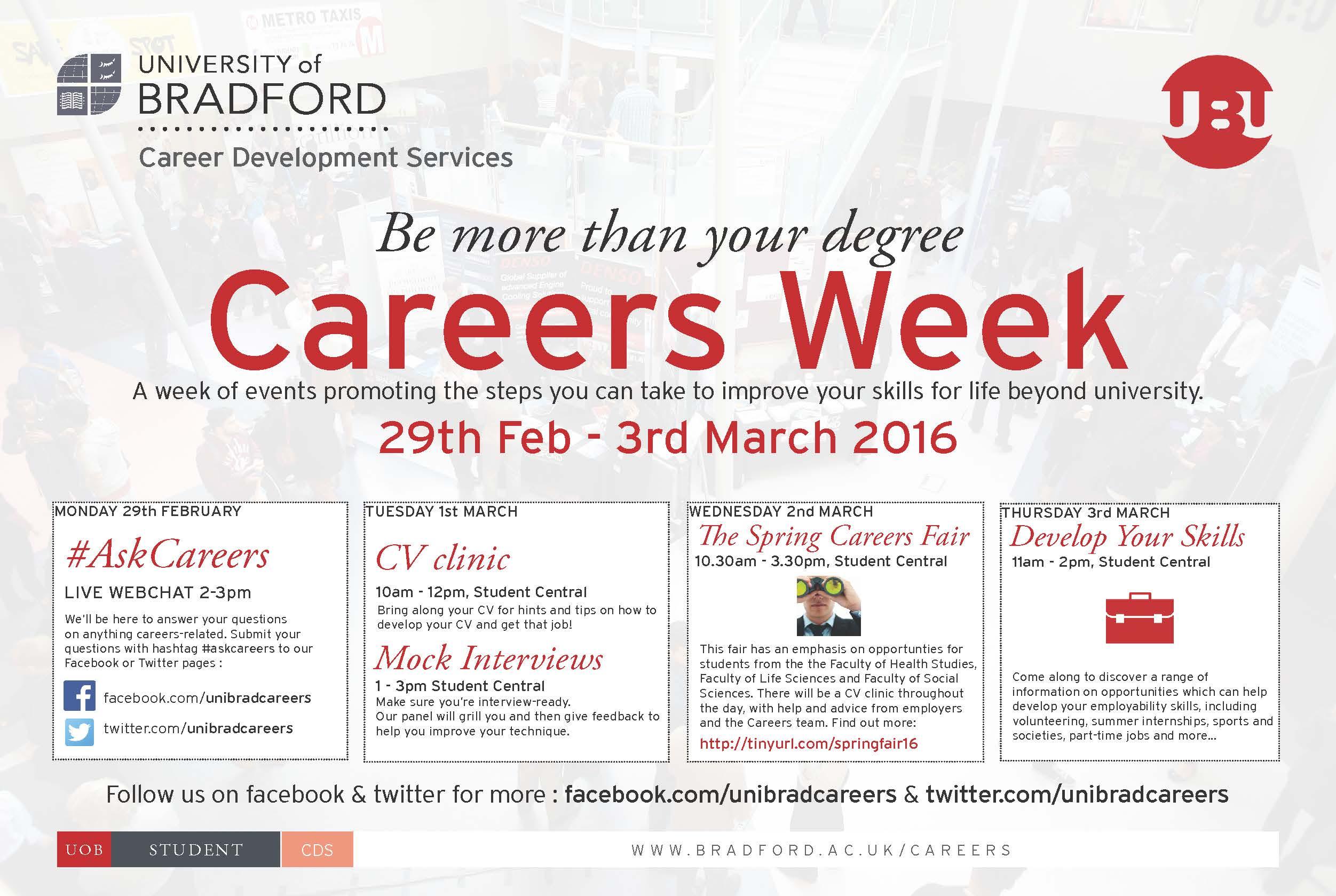 careersweek plasma