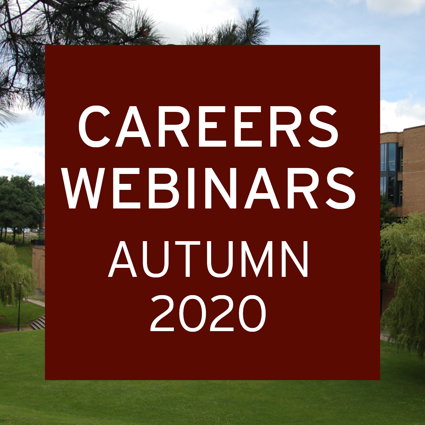 Careers Webinars Autumn 2020 logo