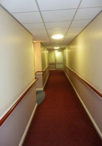 Picture of a featureless corridor.
