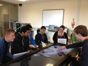 A-level students & Anatomage 10-09-12 (b)