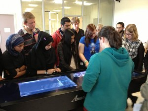 A-level students & Anatomage 10-09-12 (c)