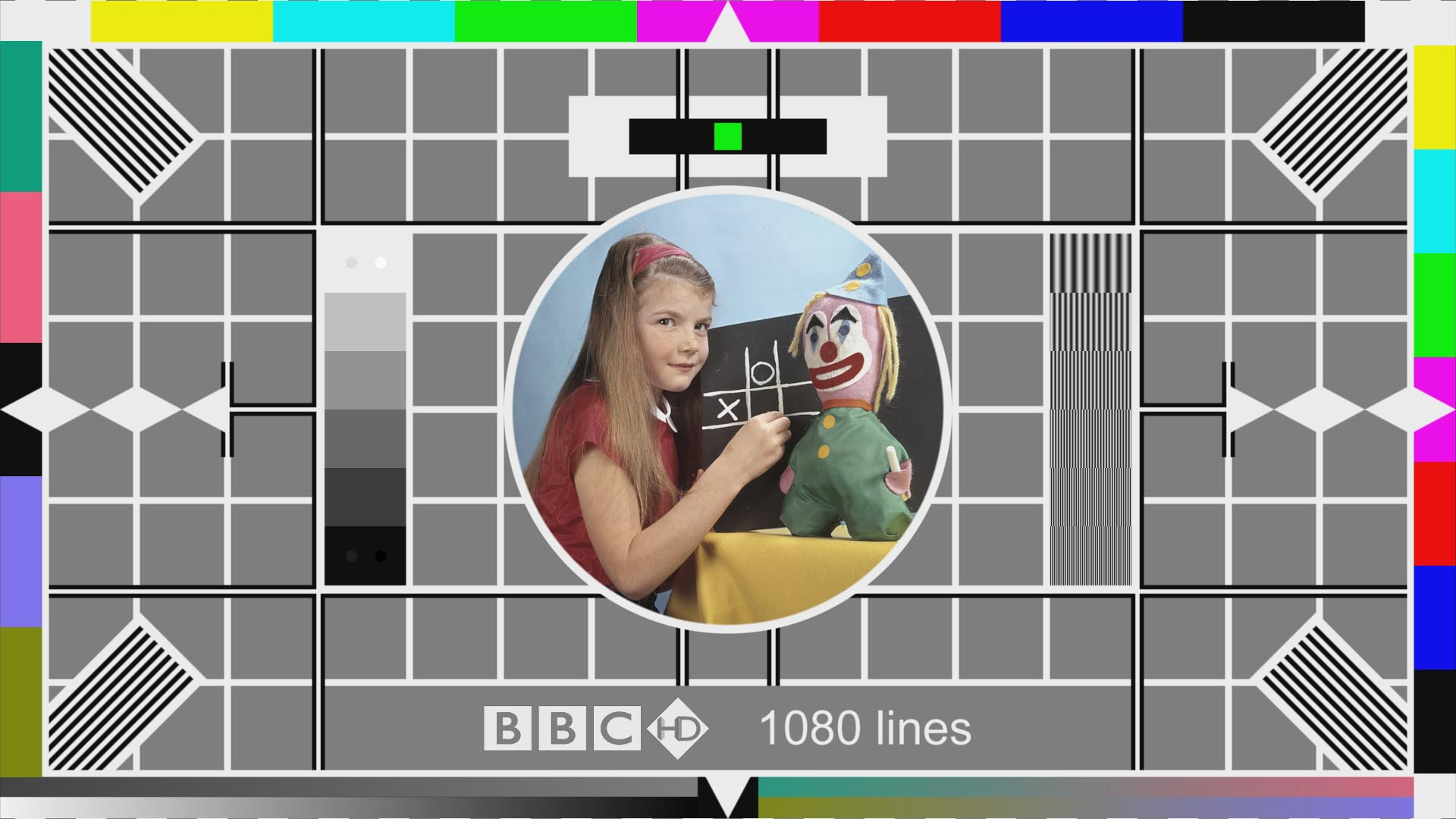 "Testcard ""F"" - HD Version"