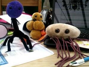 Bacteriophage, MRSA, E. coli.