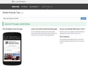Google Web Developer tools screenshot.