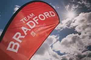 Team Bradford sign