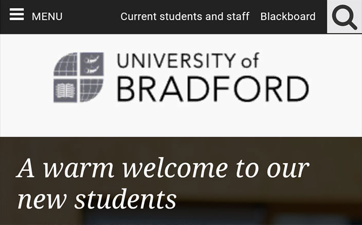 University of Bradford logo in PNG